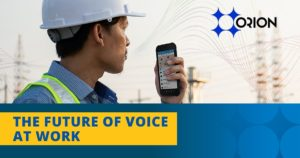 The future of voice at work